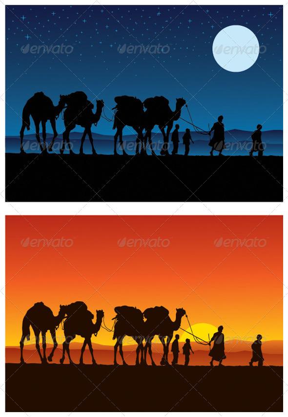 Camel Caravan - Miscellaneous Conceptual