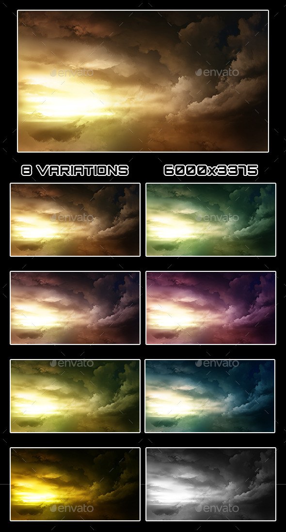 Clouds Backgrounds - Nature Backgrounds