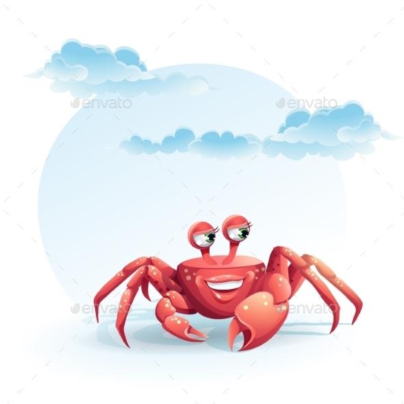 Crab Illustration - Animals Characters