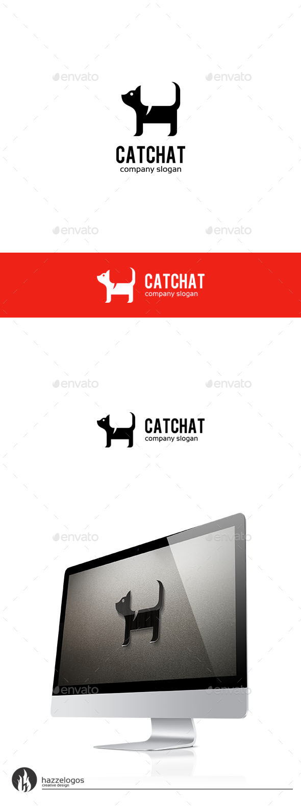 Cat Chat Logo - Animals Logo Templates