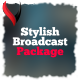 Stylish Broadcast Titles Package - VideoHive Item for Sale