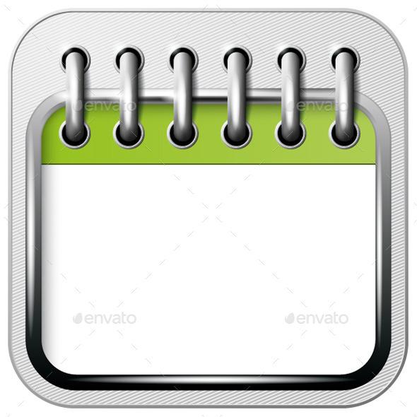 App Icon Calendar - Web Elements Vectors