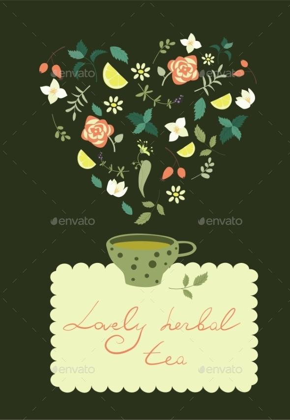 Cup of Herbal Tea - Flowers & Plants Nature