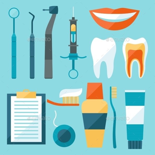 Dental Equipment  - Health/Medicine Conceptual