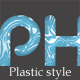 Shiny plastic style - GraphicRiver Item for Sale