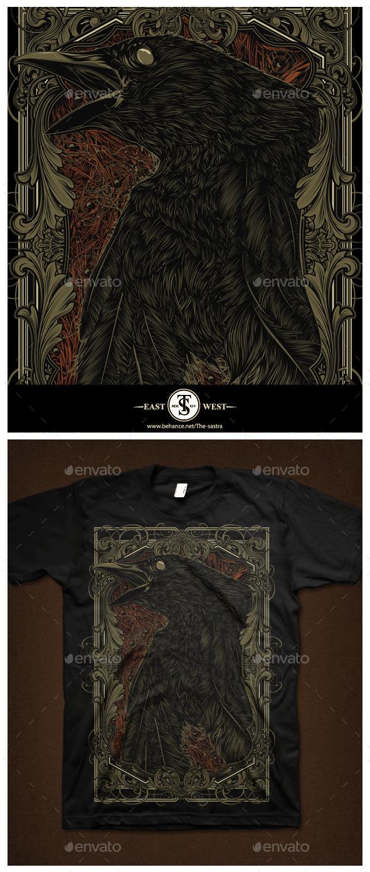 Dead Crow - Grunge Designs
