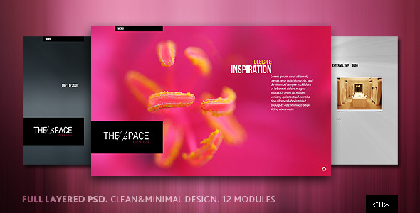 Broadside PSD Template - Creative PSD Templates