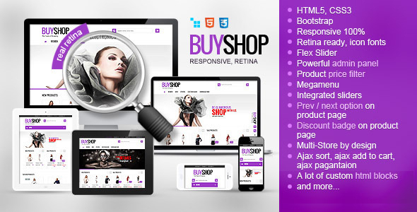 BuyShop – Responsive Retina ready CS-Cart Theme