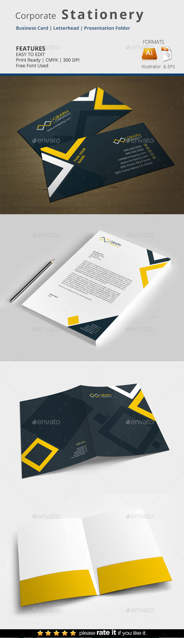 Stationery - Stationery Print Templates