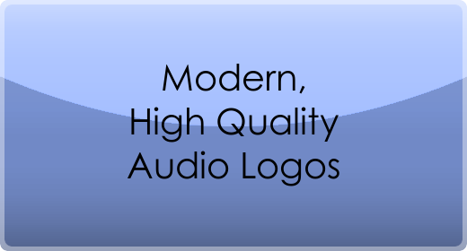 Modern, High Quality Audio Logos