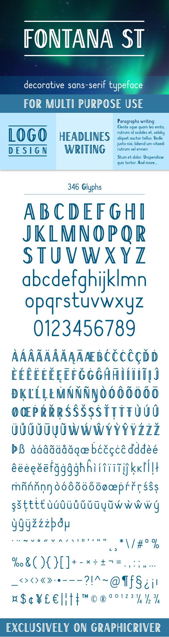 Fontana-ST - Sans-Serif Fonts
