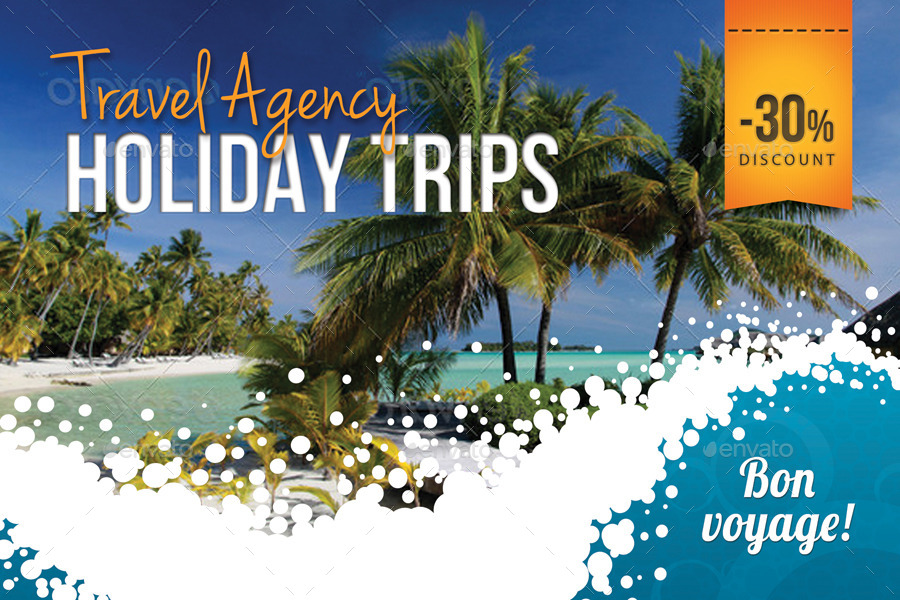 Travel agency postcard template by rapidgraf graphicriver 01previewg yadclub Image collections