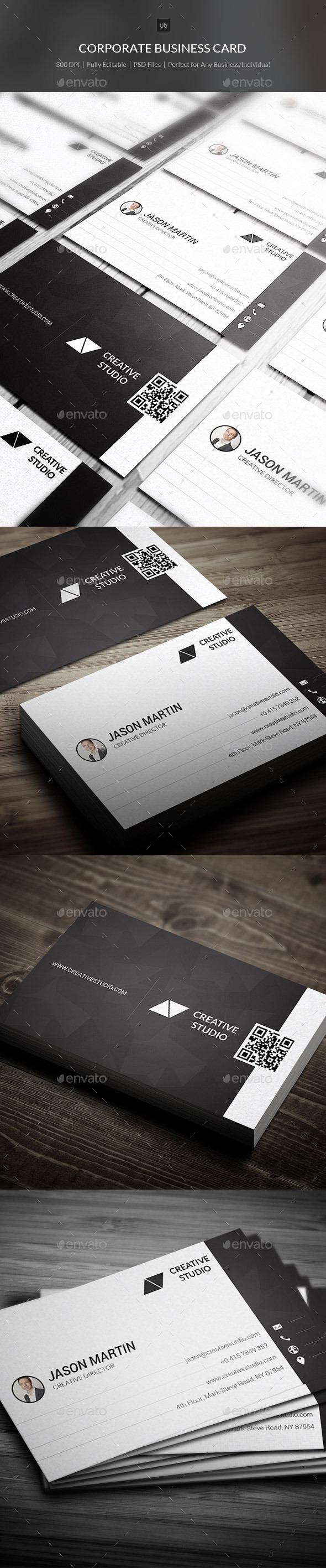 Corporate Business Card - 06 - Corporate Business Cards