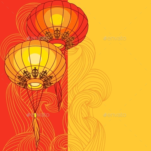 Chinese Lanterns  - New Year Seasons/Holidays