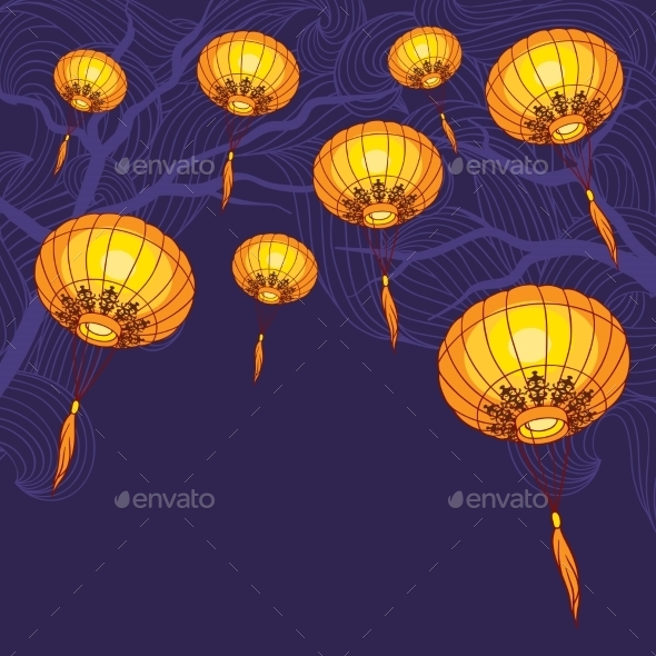 Chinese Lanterns  - New Year Seasons/Holidays