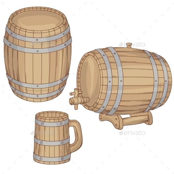 Barrels  - Food Objects