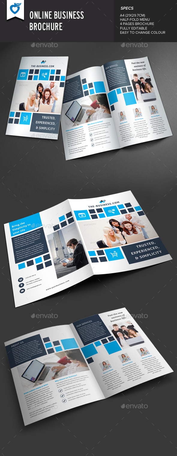 Online Business Brochure - Corporate Brochures