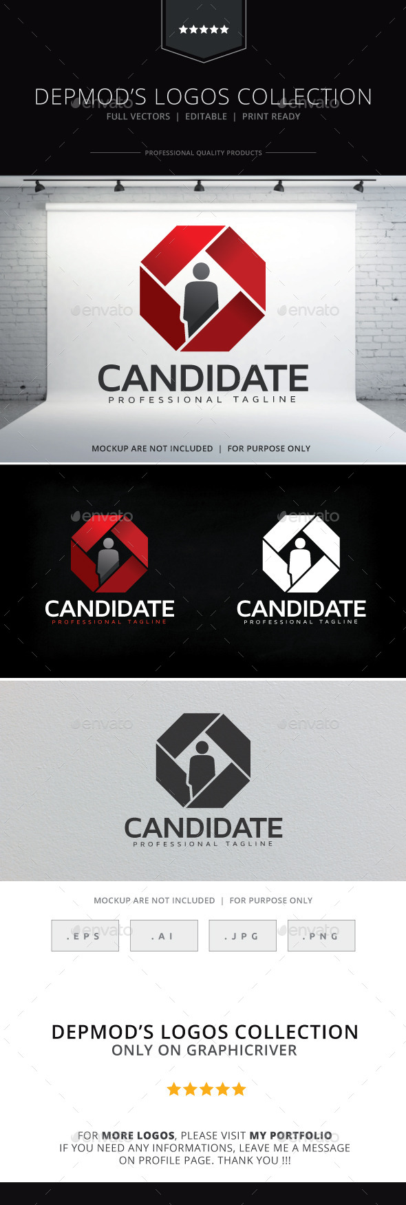 Candidate Logo - Humans Logo Templates