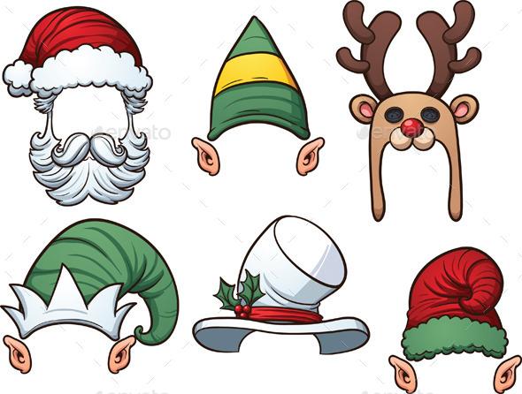 Christmas Hats - Christmas Seasons/Holidays