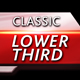 Classic Lower Third - VideoHive Item for Sale