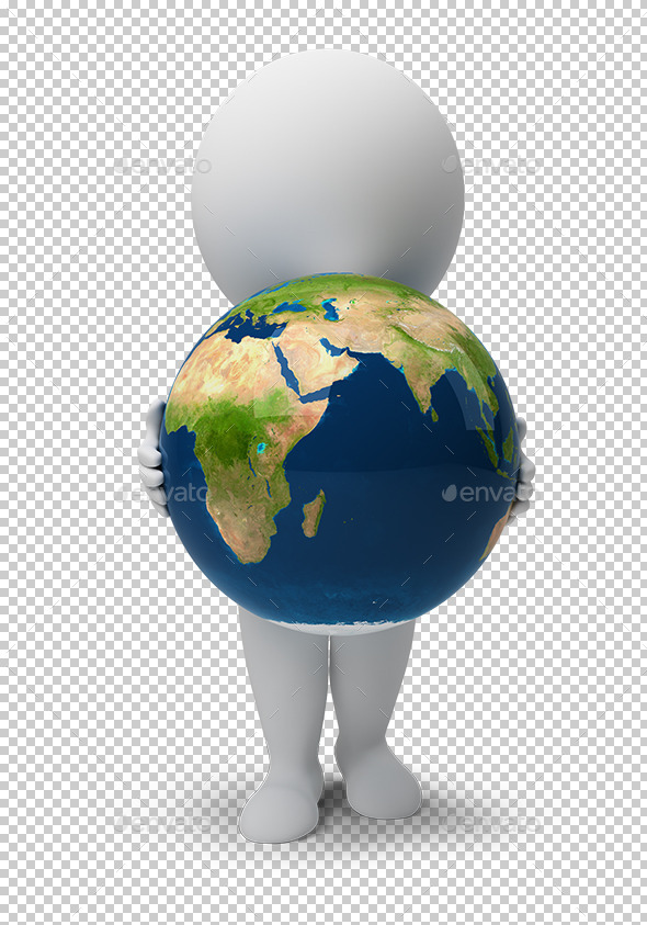 3d small people - Earth - Characters 3D Renders