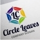 Circle Leaves Logo - GraphicRiver Item for Sale