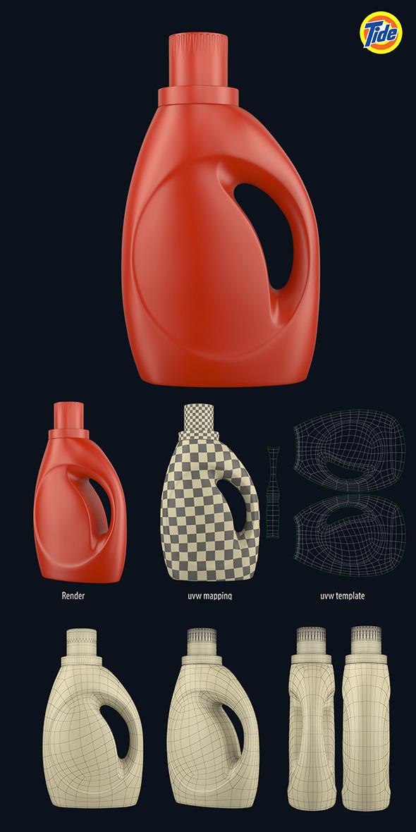 Tide Bottle (2) - 3DOcean Item for Sale