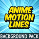 Anime Motion Lines Background Pack - VideoHive Item for Sale