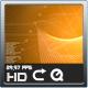 Digital Orange Background Loop - VideoHive Item for Sale