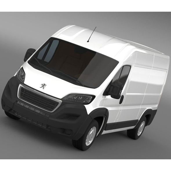 Peugeot Manager Furgon L2H2 2014 - 3DOcean Item for Sale