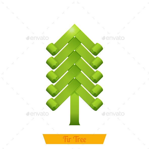 Fir Tree Green - Conceptual Vectors