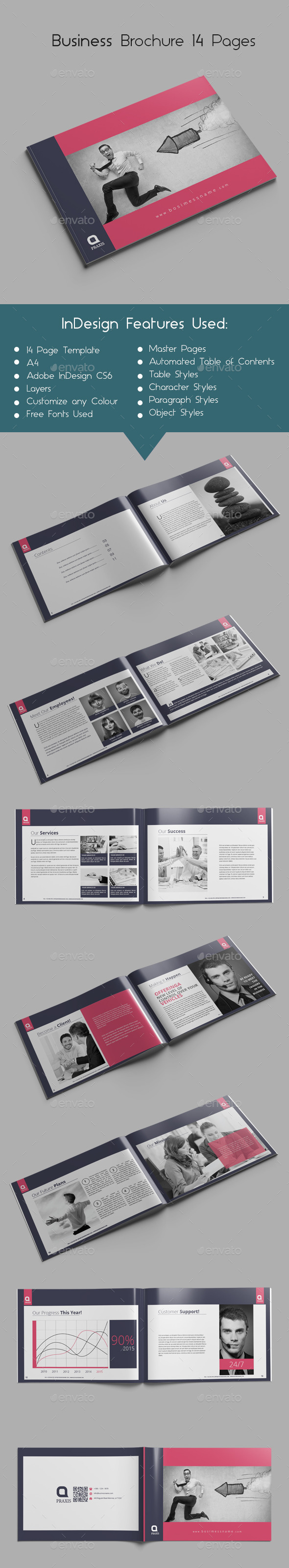 Business Brochure 14 Pages - Corporate Brochures