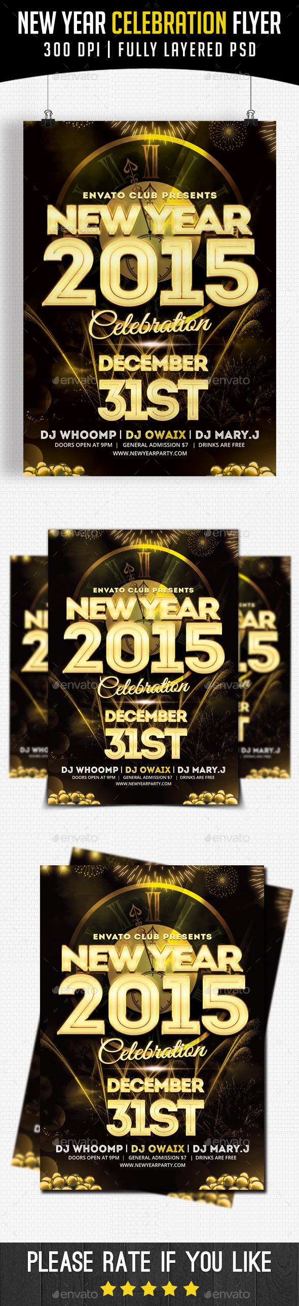 New Year Celebration 2015 - Clubs & Parties Events