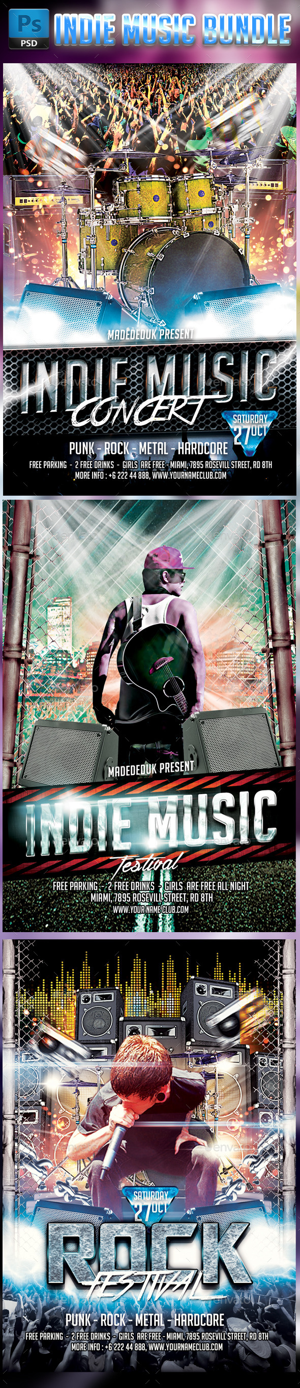 Indie music bundle - Concerts Events
