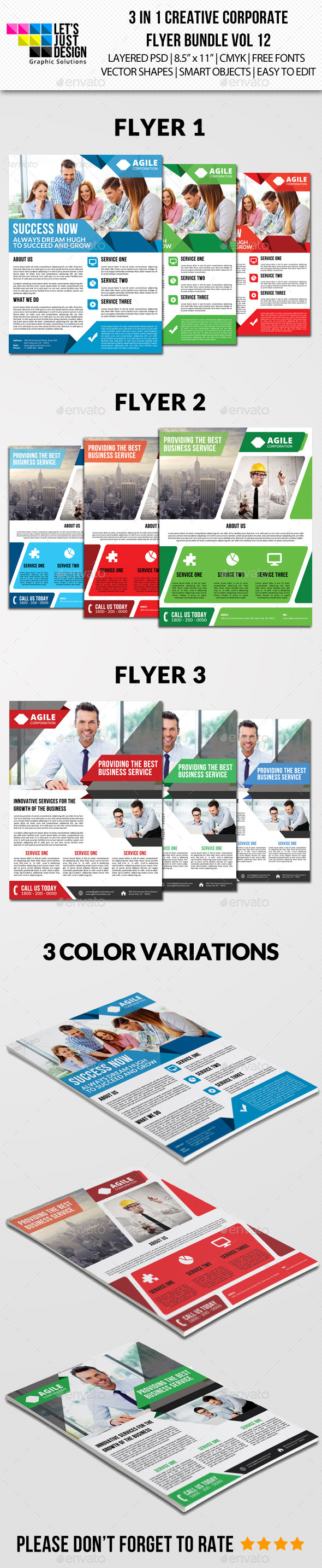 Creative Corporate Flyer Pack Vol 12 - Corporate Flyers