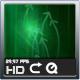 Digital Green Aura Background Loop - VideoHive Item for Sale