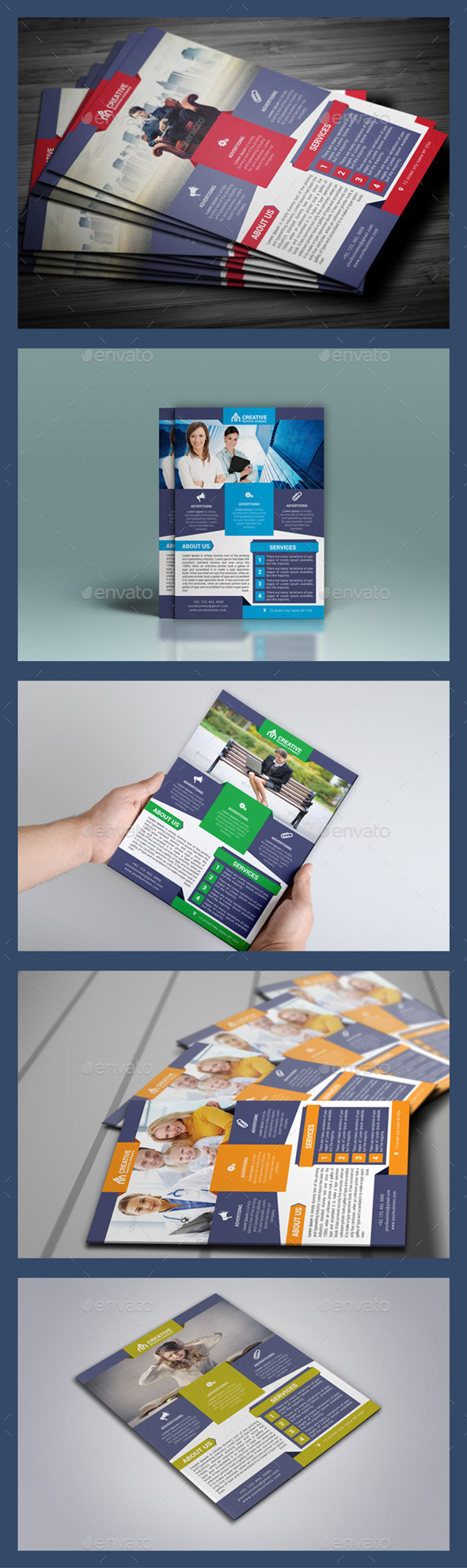 Creative Business Flyer - Flyers Print Templates