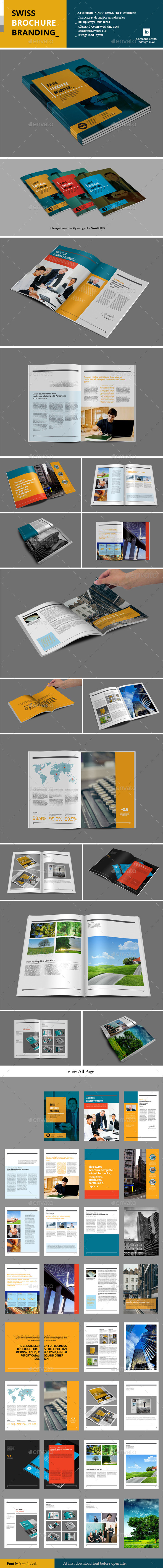 Swiss Brochure Branding - Corporate Brochures