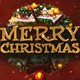 Merry Christmas with Deers - VideoHive Item for Sale