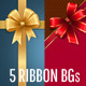 Bow / Ribbon Backgrounds Col2 - GraphicRiver Item for Sale