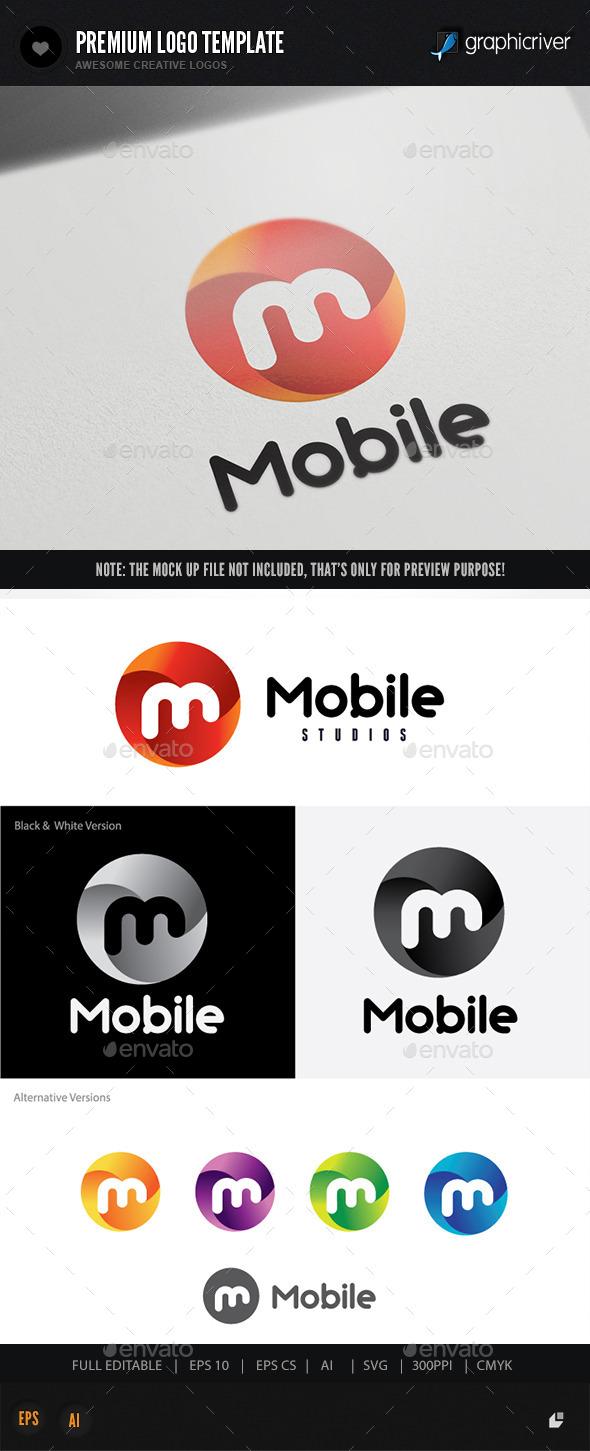 Mobile - Letters Logo Templates