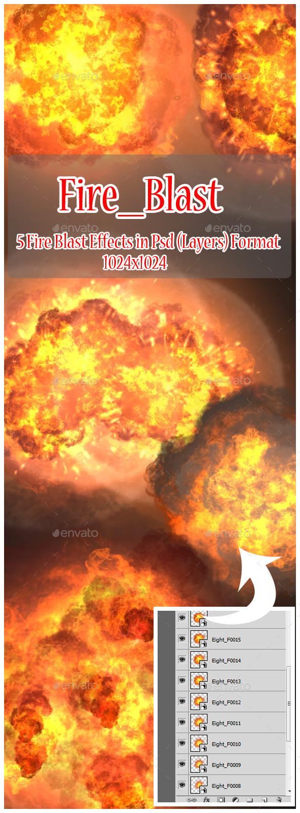 Fire Blast - Miscellaneous Backgrounds
