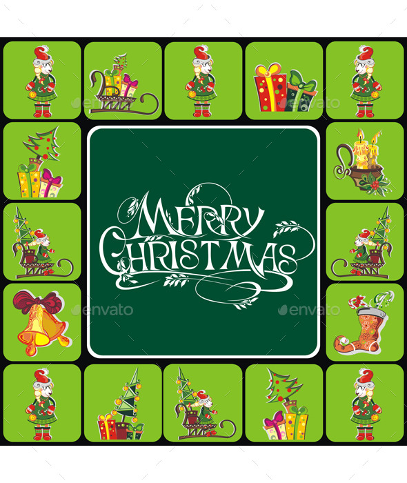 Christmas Elements - Backgrounds Decorative