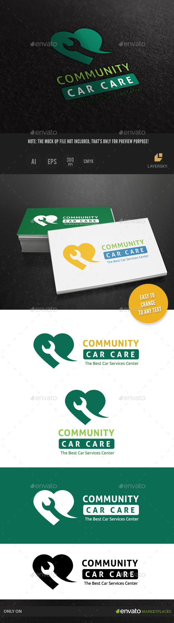 Car Services Logo - Objects Logo Templates
