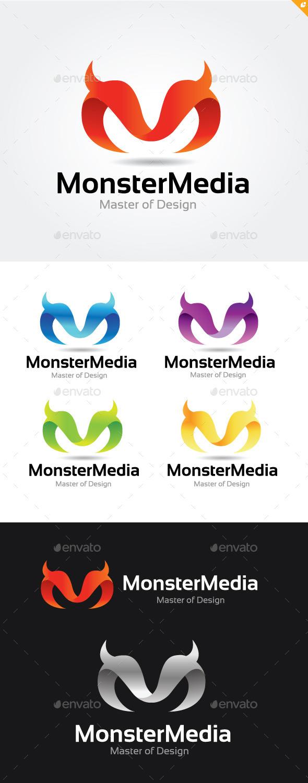 Monster Media - Letters Logo Templates