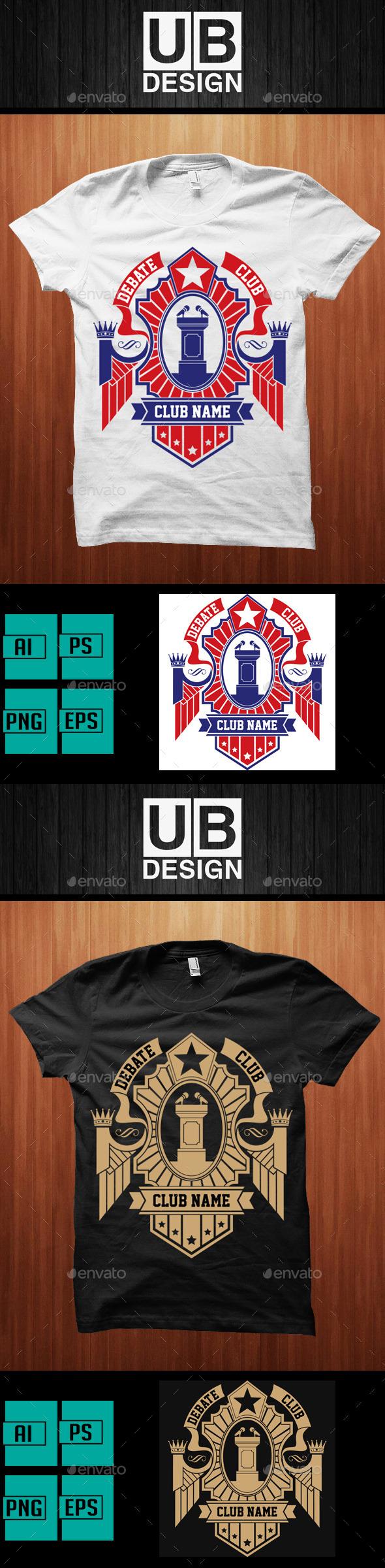 Debate Club Shirt - Academic T-Shirts