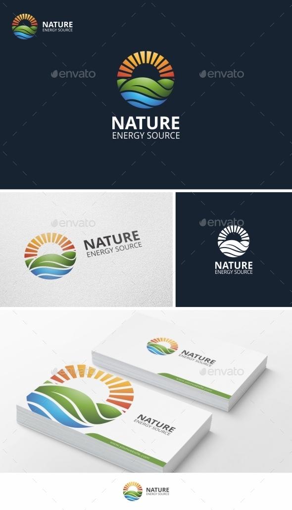 Nature Energy - Logo Template - Nature Logo Templates