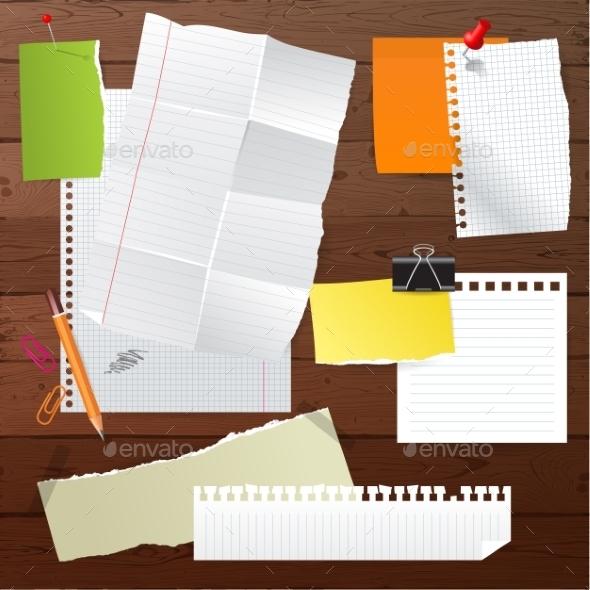 Paper Set - Objects Vectors