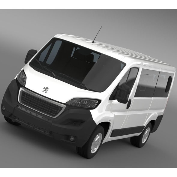 Peugeot Boxer L1H1 2014 - 3DOcean Item for Sale