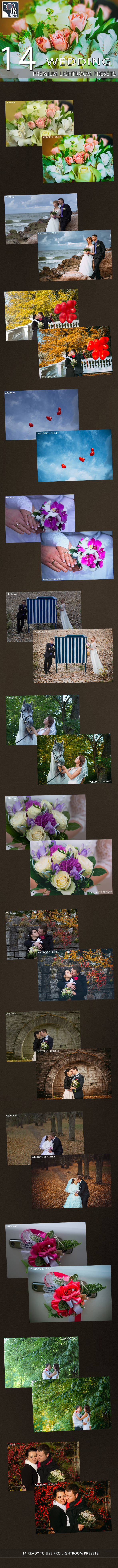 14 Wedding Lightroom Presets - Wedding Lightroom Presets